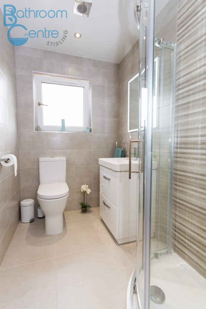 Grangemouth Bathroom Installation - Bathroom Centre Stirling